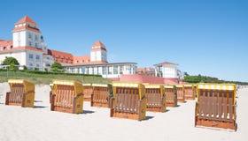 Binz,Ruegen Island,baltic Sea,Germany Royalty Free Stock Photo