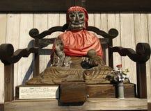 Free Binzuru Pindola Wooden Statue Stock Photos - 25071223