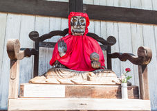 Binzuru Pindola wooden statue in Todai-ji Temple, Nara, Japan Stock Images