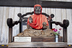 Binzuru Sonja Bodhisattva in Nara -Japan royalty free stock photo