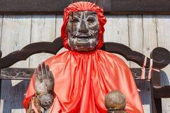 Binzuru - Todaiji寺庙的医治用的菩萨在奈良 免版税库存照片