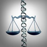 Bioética e a lei ilustração do vetor