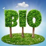 BIO árvores Fotos de Stock