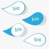 Bio étiquette Photo libre de droits