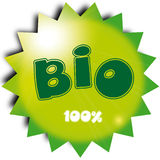 Bio. Vector illustration of bio label Stock Photo