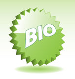 Bio 3D Badge. royalty free illustration
