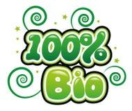 100% bio Imagens de Stock Royalty Free