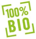 100% Bio Lizenzfreie Stockfotos