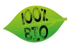 100% bio Ilustração do Vetor