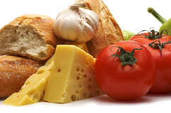 Bio- alimento fotografia stock