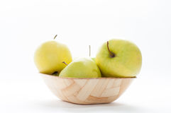 Bio apples Royalty Free Stock Image