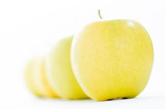 Bio apples Royalty Free Stock Images