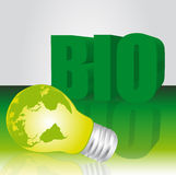 Bio background Royalty Free Stock Photos