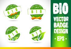 Bio Badge Logo Vector Stock Photography
