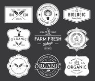 Bio Badges Crests. Vector badges for any use Stock Photos