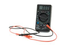 Bio battery. Measurement instrument electronic Stock Photography