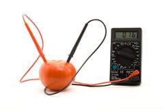 Bio battery Stock Image