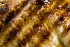 Bio bifteck grillé Photos stock