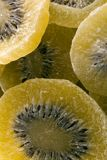 Bio big kiwis dehydrated. Fruit royalty free stock images