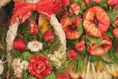 Bio blommor Arkivbild