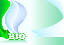 Bio_blue Immagine Stock Libera da Diritti