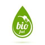 Bio bränslesymbol vektor illustrationer