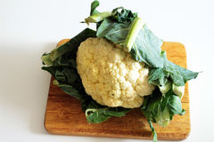 Bio cauliflower Stock Photo