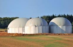Bio centrale d'essence. Images stock