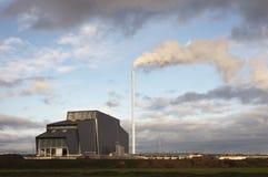 Bio- centrale elettrica Immagine Stock Libera da Diritti