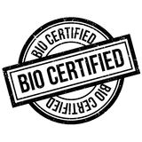Bio Certified rubber stamp Royalty Free Stock Photo
