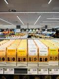 Bio chá de Buing no supermercado alemão Fotos de Stock