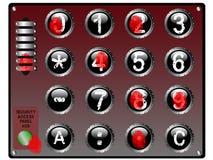 Bio clavier numérique Photos stock