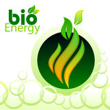 bio clean energi stock illustrationer