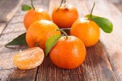 Bio clementine Royalty Free Stock Image