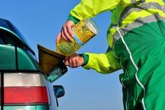 Bio-combustível-três Fotos de Stock
