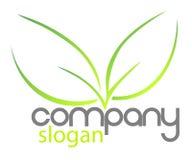 Bio companhia do logotipo Fotos de Stock