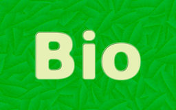 Bio concept Royalty Free Stock Photo