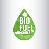 Bio concepto del verde del combustible Fotos de archivo