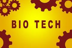 Bio- concetto di tecnologia Fotografia Stock Libera da Diritti