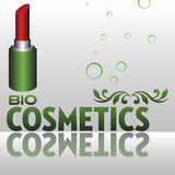 Bio cosmetics Stock Image