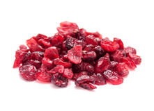 Bio cranberries pile Royalty Free Stock Images
