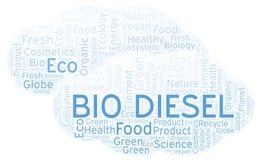Bio Diesel woordwolk vector illustratie