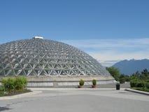 Bio dome. Modern bio dome in a park Stock Photo