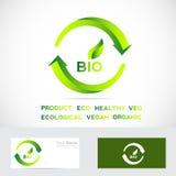 Bio eco badge Stock Photography