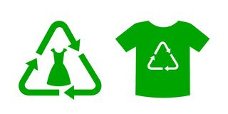 Bio and eco clothes, clothing and garment stock photos