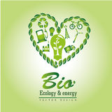 Bio ecology and energy Stock Photos