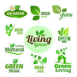 Bio - Ecology - Green icon set Stock Photo