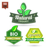 Bio - Ecology - Green - Natural icon set Royalty Free Stock Photos