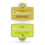 Bio - Ecology - Green - Natural - Organic -icon set Royalty Free Stock Photography