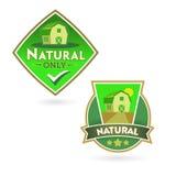 Bio - Ecology - Green - Natural - Organic -icon set Royalty Free Stock Images
